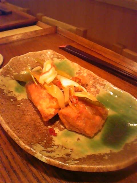 鮭(キングサーモン)<br />  の南蛮漬け