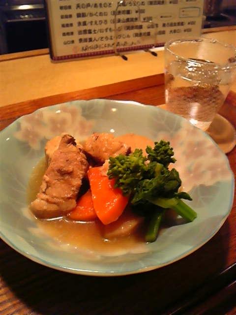 豚バラ肉と京芋の煮物