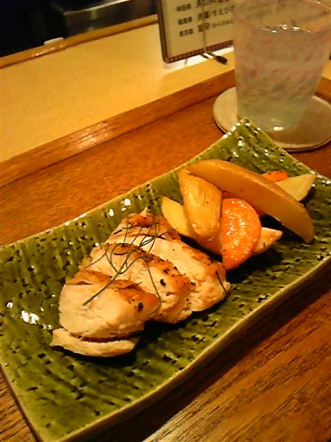 鶏肉とジャガ芋のハーブ焼き