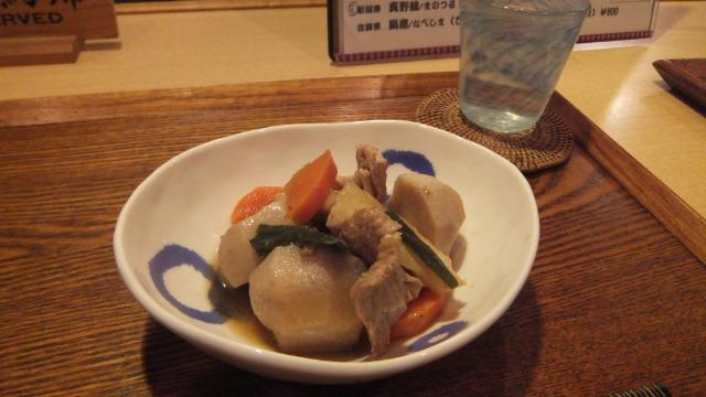 豚肉と里芋の醤油煮