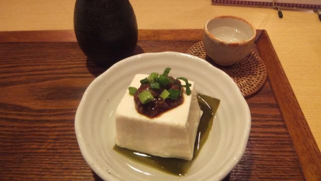 豆腐屋さんの温ヤッコ