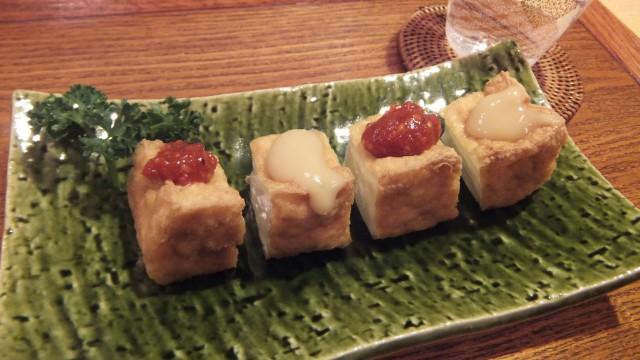 豆腐屋さんの厚揚げ