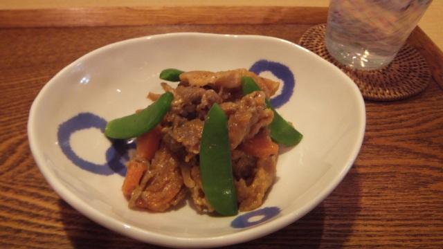 豚肉と切り干し大根の韓国風炒め