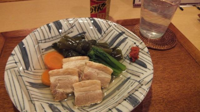 結び昆布と豚肉の煮物