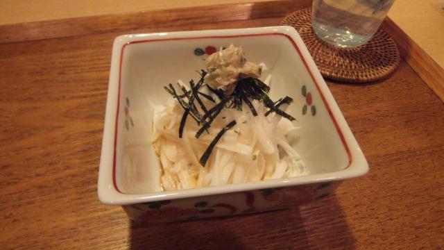 長芋のわさび酢