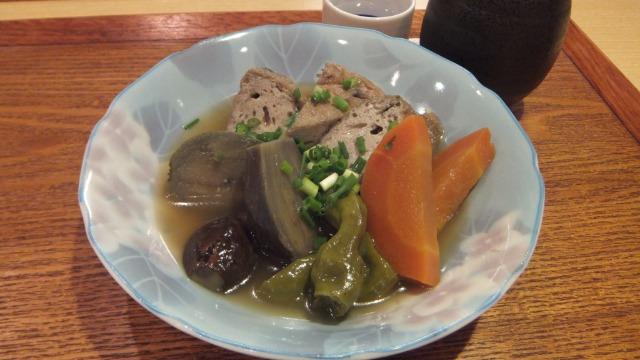 野菜とがんもどきの煮物
