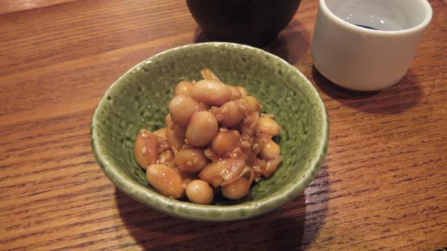 大豆のコチュジャン煮