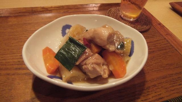 下仁田ネギと鶏肉の南蛮煮