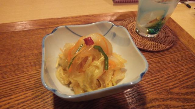 白菜の中華風漬物