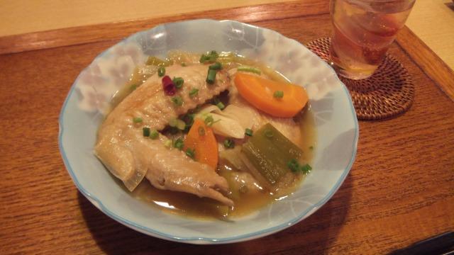 鶏手羽の南蛮酢煮