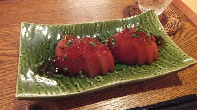トマトの漬物特製ジュレ